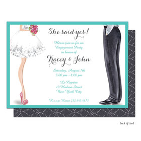 Bonnie Marcus Collection Personalized Chic Wedding Couple