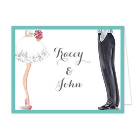 Bonnie Marcus Collection Chic Wedding Couple Thank You