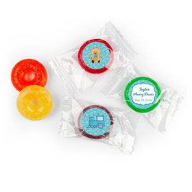 Personalized Birth Announcement It's A Boy Bundle of Joy LifeSavers 5 Flavor Hard Candy