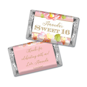 Personalized Birthday Hershey's Miniatures Personalized Sweet 16 Darling Dreams