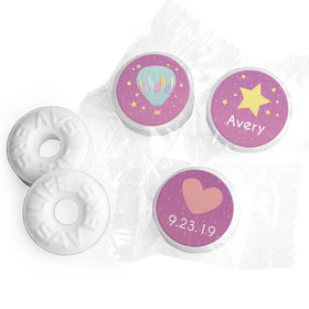 Personalized Birth Announcement It's A Girl I Have Arrived Life Savers Mints