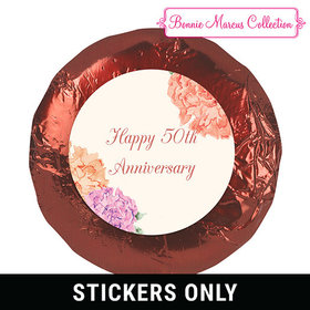 "Bonnie Marcus Collection Anniversary Blooming Joy 1.25"" Stickers (48 Stickers)"