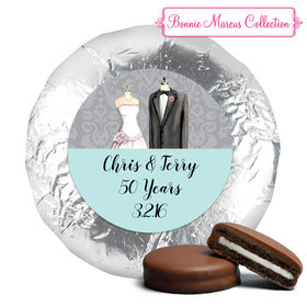 Bonnie Marcus Collection Anniversary Forever Together Milk Chocolate Covered Oreo Cookies