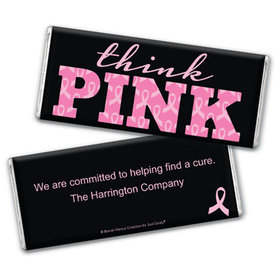 Bonnie Marcus Collection Breast Cancer Awareness Personalized Chocolate Bar