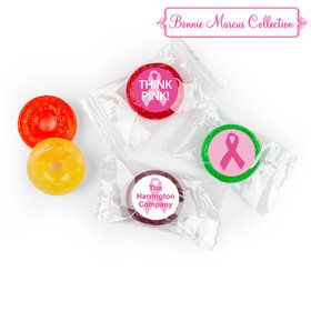 Personalized Bonnie Marcus Breast Cancer Awareness Simply Pink Life Savers 5 Flavor Hard Candy