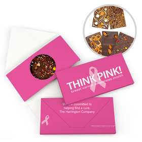 Personalized Bonnie Marcus Breast Cancer Awareness Simply Pink Gourmet Infused Chocolate Bars
