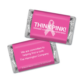 Personalized Bonnie Marcus Breast Cancer Awareness Simply Pink Mini Wrappers Only