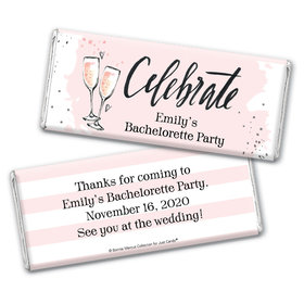 Bonnie Marcus Collection Personalized Chocolate Bar Wrappers Chocolate and Wrapper The Bubbly Custom Bachelorette Party