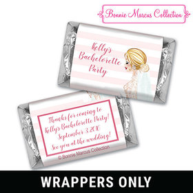 Bonnie Marcus Collection Personalized Candy Bar & Wrapper Bridal March Bachelorette Party Favors