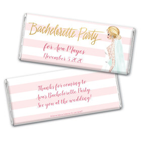 Bonnie Marcus Collection Personalized Chocolate Bar Wrappers Personalized & Wrapper Bridal March Bachelorette Party Favors