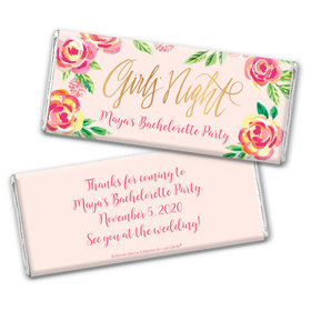 Bonnie Marcus Collection Personalized Chocolate Bar Wrappers Chocolate & Wrapper In the Pink BacheloretteFavors by Bonnie Marcus