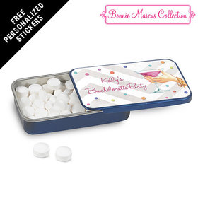 Bonnie Marcus Collection Personalized Mint Tin Here's to You Bachelorette Party (12 Pack)