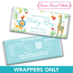 Bonnie Marcus Collection Personalized Chocolate Bar Wrappers