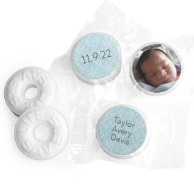 Bonnie Marcus Collection Personalized LIFE SAVERS Mints Photo Birth Announcement