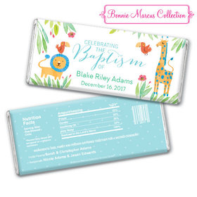Bonnie Marcus Collection Baptism Personalized Chocolate Bar