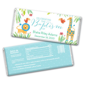 Bonnie Marcus Collection Baptism Personalized Chocolate Bar Wrappers