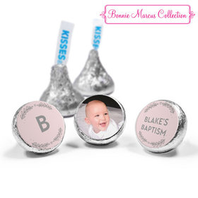 Personalized Bonnie Marcus Baptism Filigree and Heart Hershey's Kisses (50 Pack)