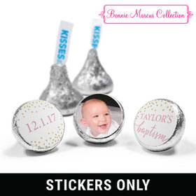 "Personalized Bonnie Marcus Baptism Confetti 3/4"" Stickers (108 Stickers)"