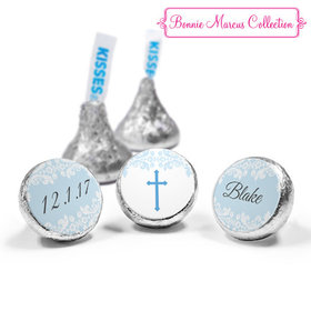 Personalized Bonnie Marcus Baptism Floral Filigree Hershey's Kisses (50 Pack)
