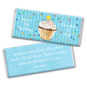 Bonnie Marcus Collection Personalized Chocolate Bar Wrappers Birthday Wrappers Cupcake Dazzle