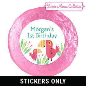 "Bonnie Marcus Collection Safari Snuggles Birthday 1.25"" Stickers (48 Stickers)"