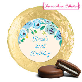 Bonnie Marcus Collection Birthday Here's Something Blue Milk Chocolate Covered Oreo Cookies