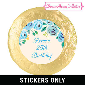 "Bonnie Marcus Collection Birthday Here's Something Blue 1.25"" Stickers (48 Stickers)"