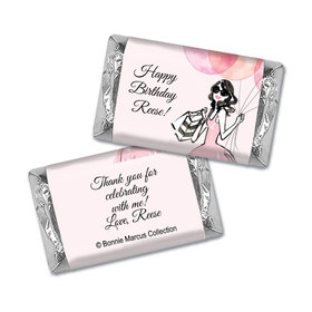Bonnie Marcus Collection Personalized Mini Candy Bar Wrapper Blithe Spirit Birthday