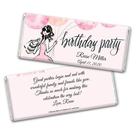 Bonnie Marcus Collection Personalized Chocolate Bar Wrappers Birthday Wrappers Blithe Spirit Birthday