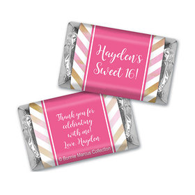 Bonnie Marcus Collection Personalized Mini Candy Bar Wrapper Picture Your Birthday