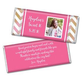 Bonnie Marcus Collection Personalized Chocolate Bar Birthday Wrappers Picture Your Birthday