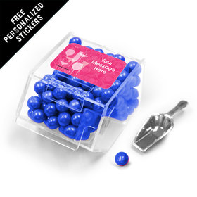 Born to be Fabulous Personalized Candy Bin Dispenser with Scoop 12 Pack