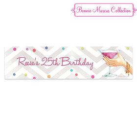 Personalized Here's to You Birthday 5 Ft. Banner