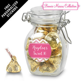 Bonnie Marcus Collection Personalized Latch Jar - Picture Your Birthday (6 Pack)