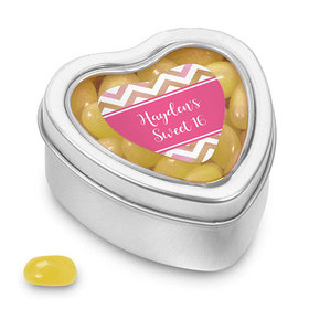 Bonnie Marcus Collection Small Heart Tin - Picture Your Birthday (25 Pack)