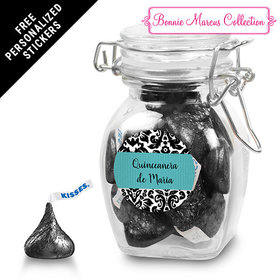 Bonnie Marcus Collection Personalized Latch Jar Quinceañera (6 Pack)