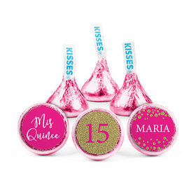 Personalized Bonnie Marcus Birthday Sparkle Hershey's Kisses (50 pack)