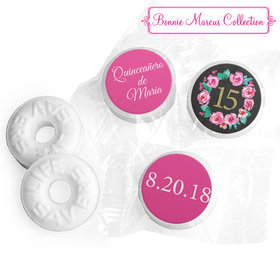 Personalized Bonnie Marcus Quinceanera Wreath Life Savers Mints