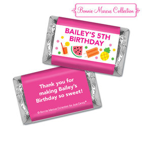 Personalized Bonnie Marcus Tropical Birthday Hershey's Miniatures