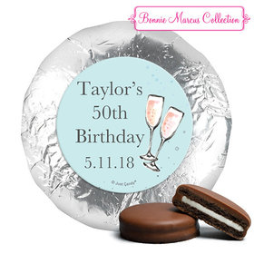 Personalized Birthday Bubbly Party Blue York Peppermint Patties (24 Pack)