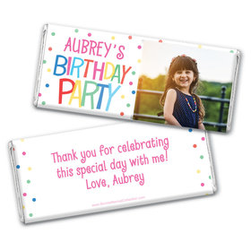 Personalized Bonnie Marcus Birthday Sweet Celebration Chocolate Bar Wrappers