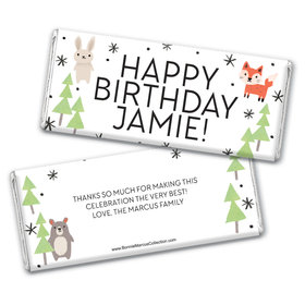 Personalized Bonnie Marcus Birthday Scouting Pals Chocolate Bar Wrappers
