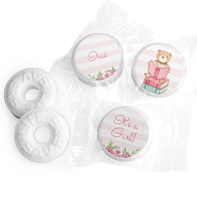 Bonnie Marcus Collection Story Time Baby Girl Stickers Personalized Life Savers