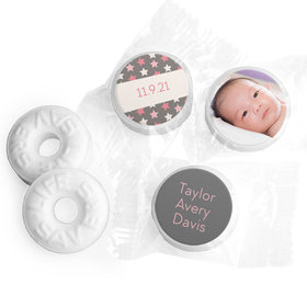 Bonnie Marcus Collection Personalized LIFE SAVERS Mints Star Girl Birth Announcement