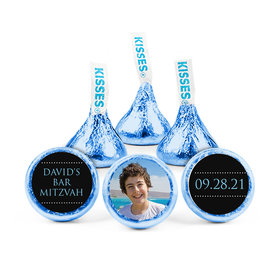 Personalized Bar Mitzvah Classic Hershey's Kisses (50 pack)