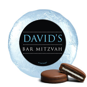 Personalized Bonnie Marcus Bat Mitzvah Classic Chocolate Covered Oreos Cookies (24 Pack)