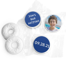 Bar Mitzvah Personalized Traditional Star Life Savers Mints