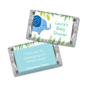 Bonnie Marcus Collection Personalized Mini Candy Bar Wrapper Baby Shower Candy Safari Snuggles