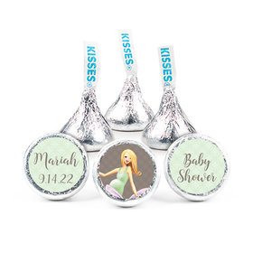 "Bonnie Marcus Collection Baby Bow Baby Shower 3/4"" Stickers - Custom (108 Stickers)"