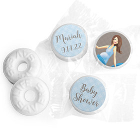 Bonnie Marcus Collection Baby Bow Baby Shower Stickers - Custom Life Savers